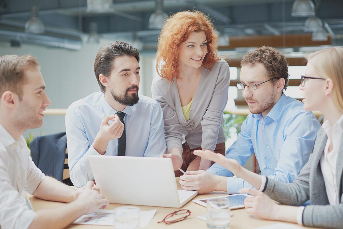 Vernetzung für ein effizientes Arbeiten Ihres Unternehmens